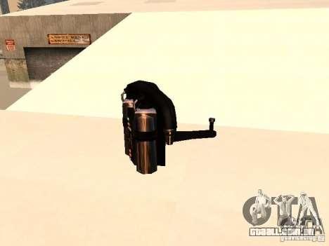 Um novo Jetpack para GTA San Andreas por diante tela