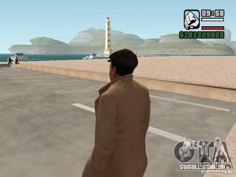 Joe Barbaro v 1.0 para GTA San Andreas segunda tela