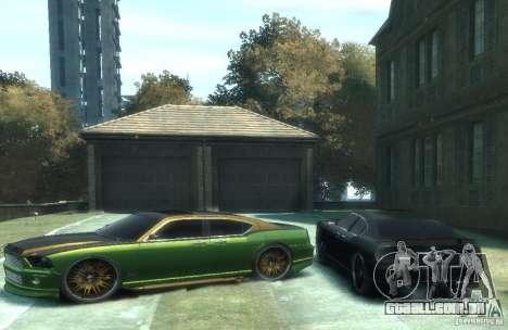 Civilian Buffalo DUB Edition v3.0 para GTA 4 esquerda vista