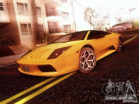 Lamborghini Murcielago Roadster para GTA San Andreas vista direita