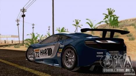 McLaren MP4-12C Speedhunters Edition para o motor de GTA San Andreas
