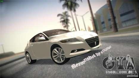 Honda CR-Z 2010 V1.0 para GTA San Andreas