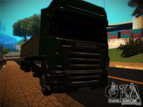 Scania R580 para vista lateral GTA San Andreas