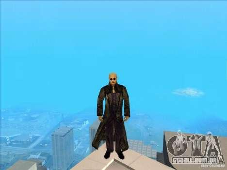 Matrix Skin Pack para GTA San Andreas quinto tela
