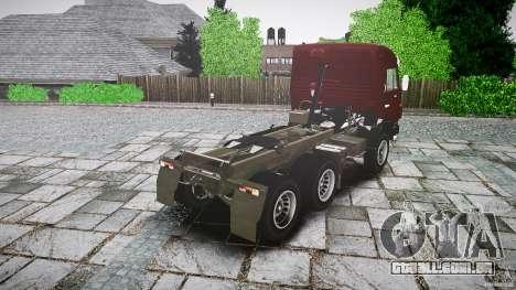 KAMAZ 5410 para GTA 4 traseira esquerda vista