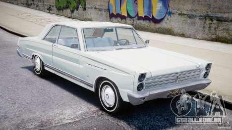 Ford Mercury Comet 1965 [Final] para GTA 4 esquerda vista
