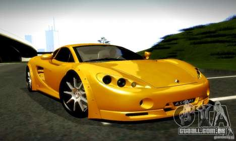 Ascari KZ1R Limited Edition para GTA San Andreas vista direita