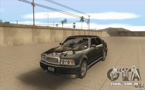GTA3 HD Vehicles Tri-Pack III v.1.1 para GTA San Andreas vista direita