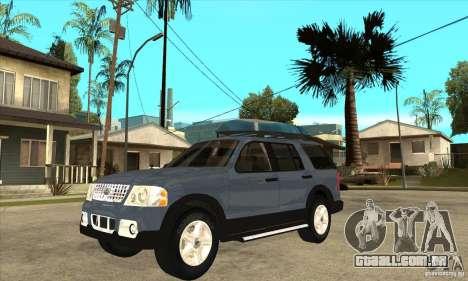 Ford Explorer 2004 para GTA San Andreas