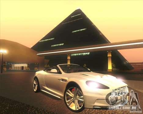 Aston Martin DBS Volante 2009 para o motor de GTA San Andreas
