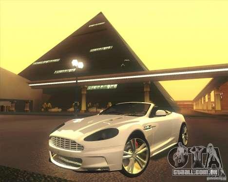 Aston Martin DBS Volante 2009 para GTA San Andreas vista inferior