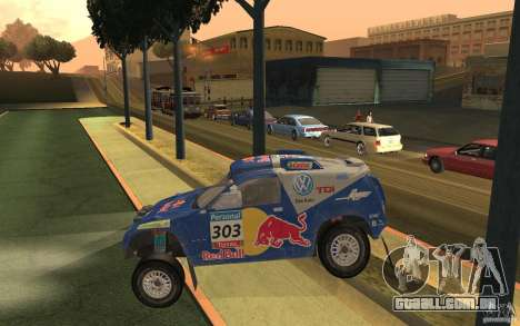 Volkswagen Race Touareg para GTA San Andreas esquerda vista