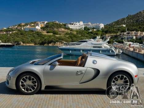 Carregamento telas Bugatti Veyron para GTA San Andreas sexta tela