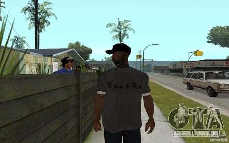 Crips 4 Life para GTA San Andreas por diante tela
