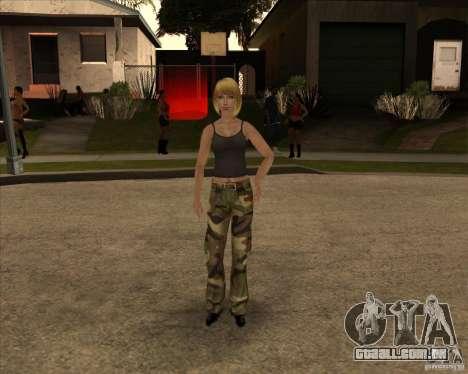 Nova gangrl3 para GTA San Andreas