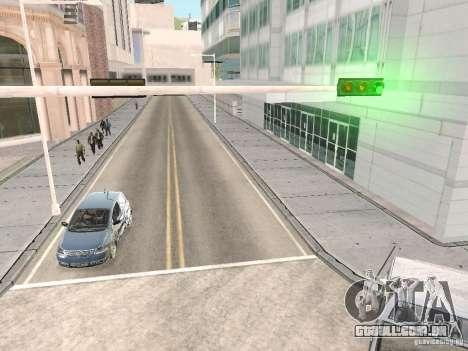 Volkswagen Fox 2011 para GTA San Andreas vista traseira
