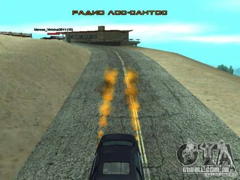 Car Effect para GTA San Andreas segunda tela