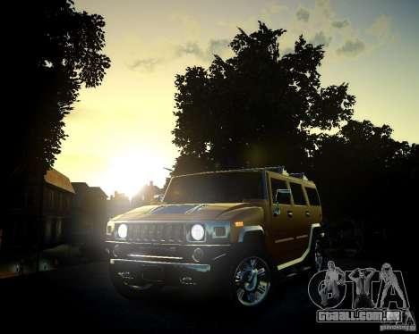 Hummer H2 2010 Limited Edition para GTA 4 vista inferior