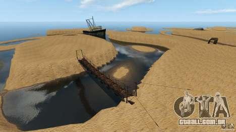 Deserto de Gobi para GTA 4 por diante tela