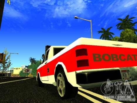 O novo gráfico por jeka_raper para GTA San Andreas segunda tela