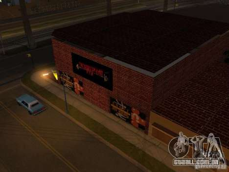 Novo ginásio para GTA San Andreas segunda tela