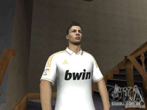 Cristiano Ronaldo para GTA San Andreas terceira tela