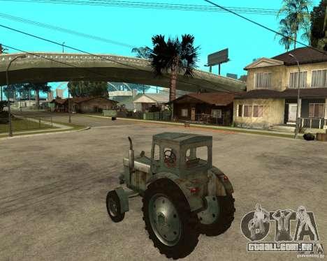 Trator Т-40М para GTA San Andreas esquerda vista