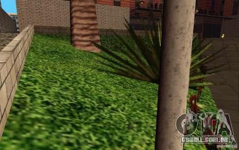 Novas texturas para o hospital em Los Santos para GTA San Andreas por diante tela