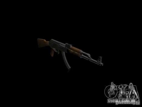 Armas do GTA 4 para GTA San Andreas