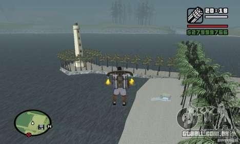 Praia do paraíso para GTA San Andreas terceira tela