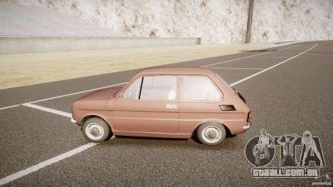 Fiat 126 para GTA 4 esquerda vista