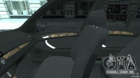 BMW X5 E53 v1.3 para GTA 4 vista de volta