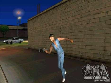 Comportamento de outras pessoas para GTA San Andreas terceira tela