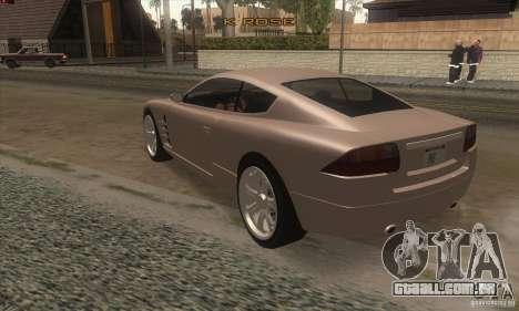 GTA IV F620 para GTA San Andreas traseira esquerda vista