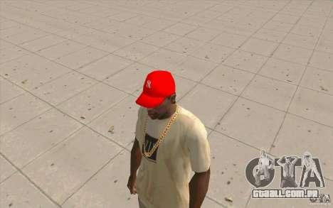 Newyorkyankiys tampa vermelha para GTA San Andreas