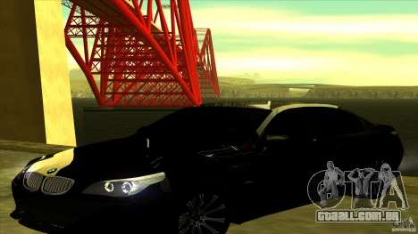 ENBSeries 0.75c para GTA San Andreas terceira tela
