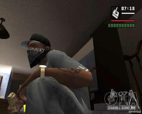 Detector de s. l. a. t. k. e. R # 1 para GTA San Andreas segunda tela