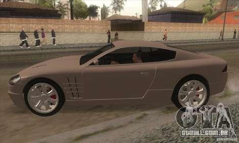 GTA IV F620 para GTA San Andreas esquerda vista
