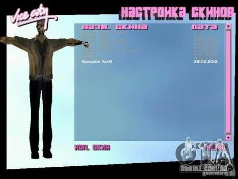 MK 9 Scorpion Costume para GTA Vice City segunda tela