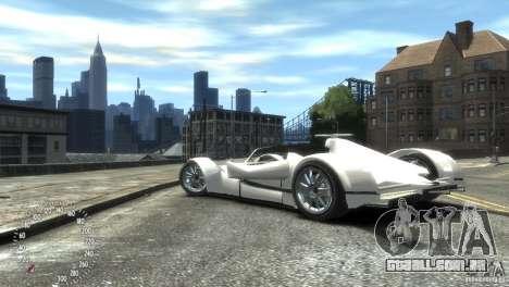 Ibis Formula GT para GTA 4 traseira esquerda vista
