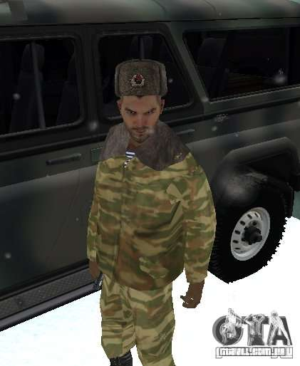Dembele Covetskoj exército para GTA San Andreas