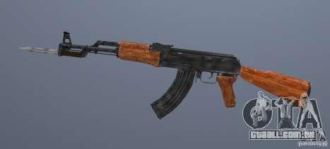 AK 47 com baioneta para GTA San Andreas segunda tela