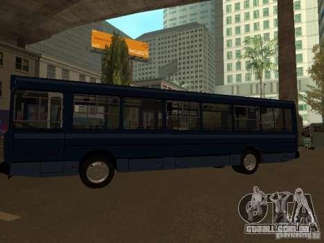 YAZ 5267 para GTA San Andreas traseira esquerda vista