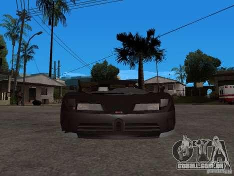 Buggati EB110 para GTA San Andreas vista direita