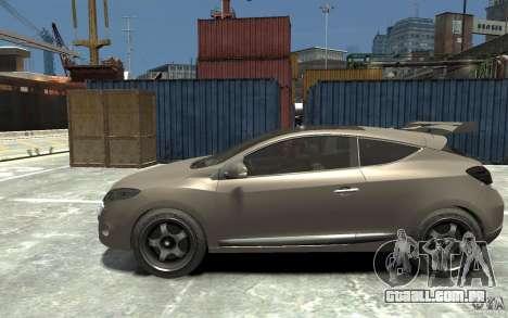 Renault Megane Coupe para GTA 4 esquerda vista