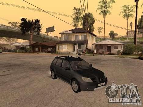 Mitsubishi Outlander 2003 para GTA San Andreas vista direita