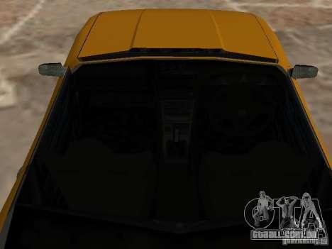 Elegia de Tops conversíveis para GTA San Andreas vista traseira