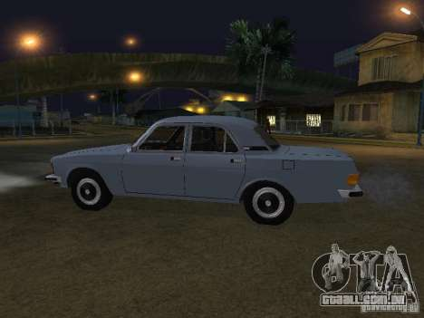GAZ 3102 para GTA San Andreas esquerda vista
