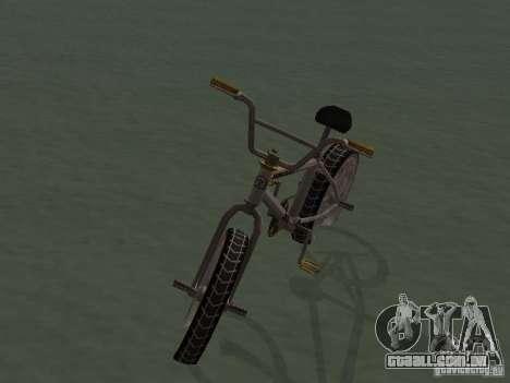 New Bmx para GTA San Andreas vista direita