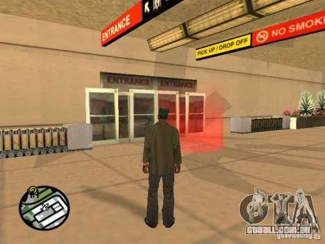 Piloto de emprego para GTA San Andreas terceira tela